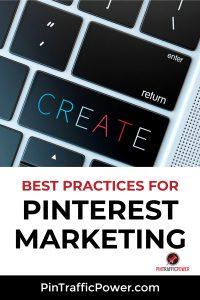 best practices for Pinterest marketing