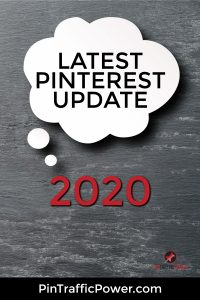 latest Pinterest update 2020